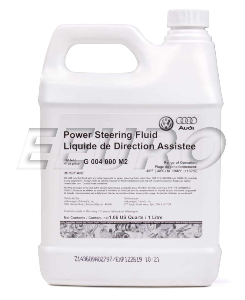 Power Steering Fluid (1 Liter) G004000M2 Main Image