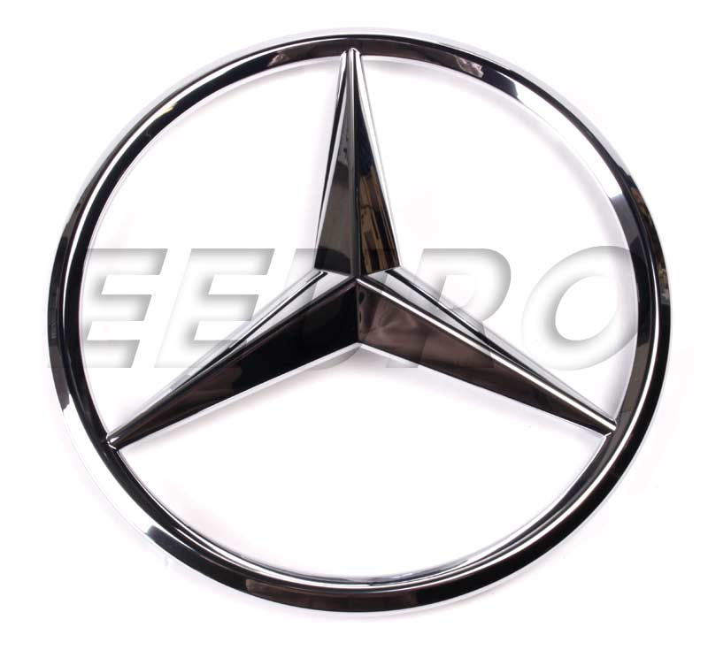 0008171416 genuine mercedes emblem free shipping for Mercedes benz insignia