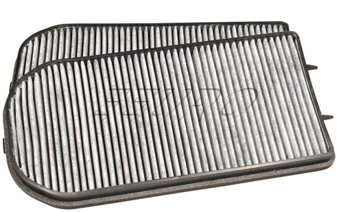 Cabin Air Filter Set (Activated Charcoal) - Bosch C3741 BMW 64312339888 C3741