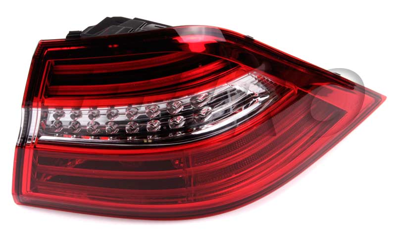 1669063401 genuine mercedes tail light assembly free for Mercedes benz tail light lens