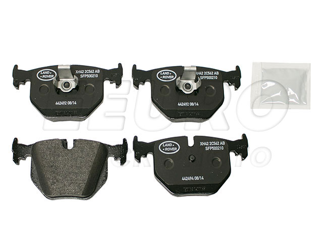 Disc Brake Pad Set - Rear - Genuine Land Rover SFP500210  Disc Brake Pad Set - Rear