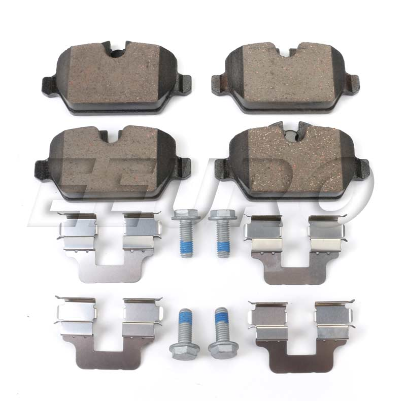 Disc Brake Pad Set - Rear - Genuine Mini 34219808706