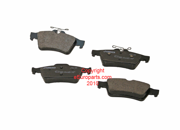 Disc Brake Pad Set - Rear 93190338J Main Image