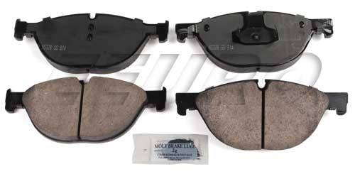 Click here for Disc Brake Pad Set - Front - Akebono EUR1409 BMW 3... prices
