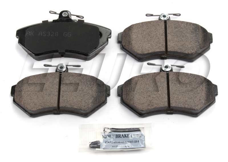 Click here for Disc Brake Pad Set - Front - Akebono EUR704 VW 1HM... prices