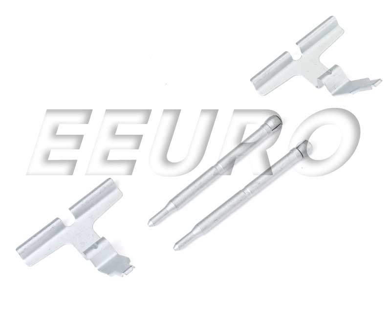Disc Brake Caliper Pin Kit - Rear - Genuine Mercedes 0004201582