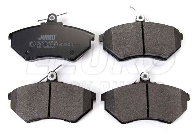 Disc Brake Pad Set - Front - Genuine VW 357698151B