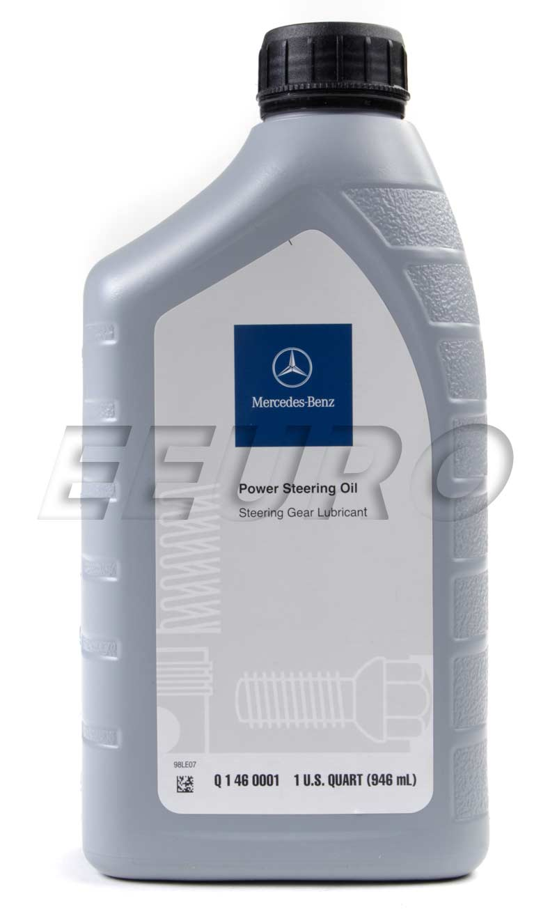 q1460001 genuine mercedes power steering fluid 1