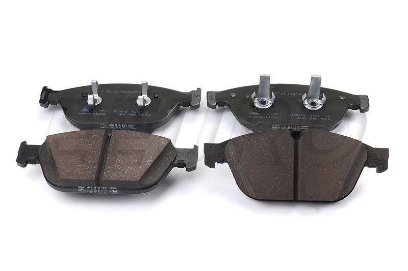Disc Brake Pad Set - Front (380mm) - Genuine VW 4H0698151N