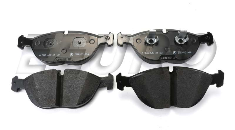 Disc Brake Pad Set - Front - Genuine Mercedes 003420212041