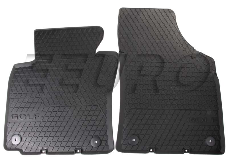 Floor Mat Set - Front (All-Weather) (Black) 1K1061502A82V Main Image
