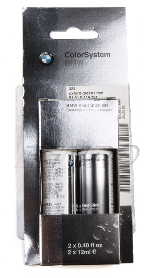 Touch-up Paint (Code 324) (Oxford Green) - Genuine BMW 51910419761 51910419761