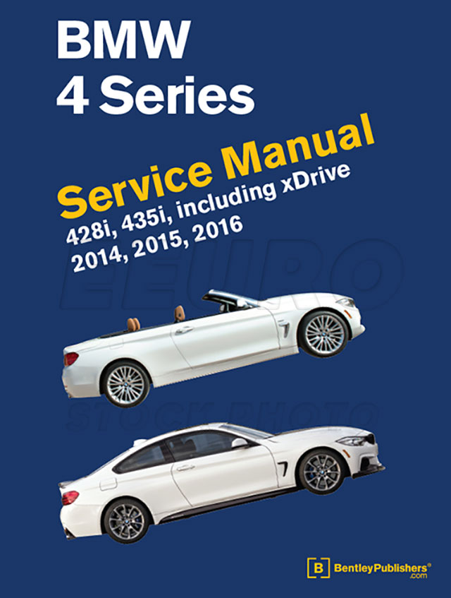 bmw repair manual  f32 f33 f36  - bentley b416