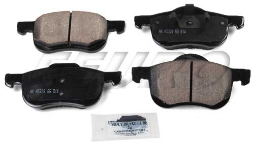 Click here for Disc Brake Pad Set - Front - Akebono EUR794 Volvo... prices