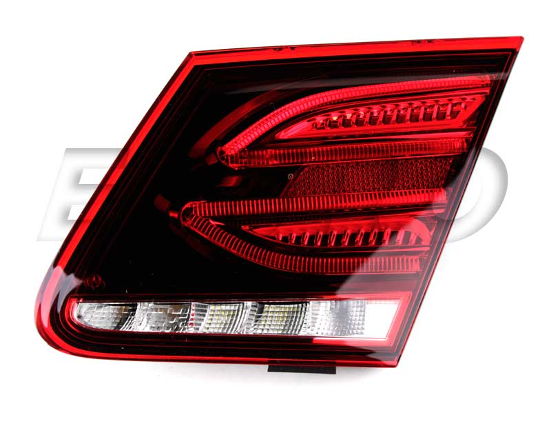 2079063800 genuine mercedes tail light assembly free for Mercedes benz tail light lens