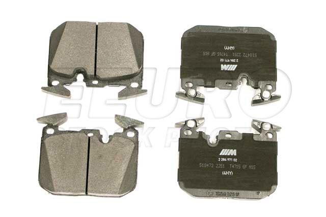 Disc Brake Pad Set - Front - Genuine BMW 34112284969