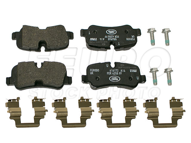 Disc Brake Pad Set - Rear - Genuine Land Rover LR015519