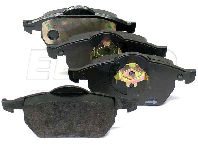 Disc Brake Pad Set - Front - Genuine VW 1J0698151M