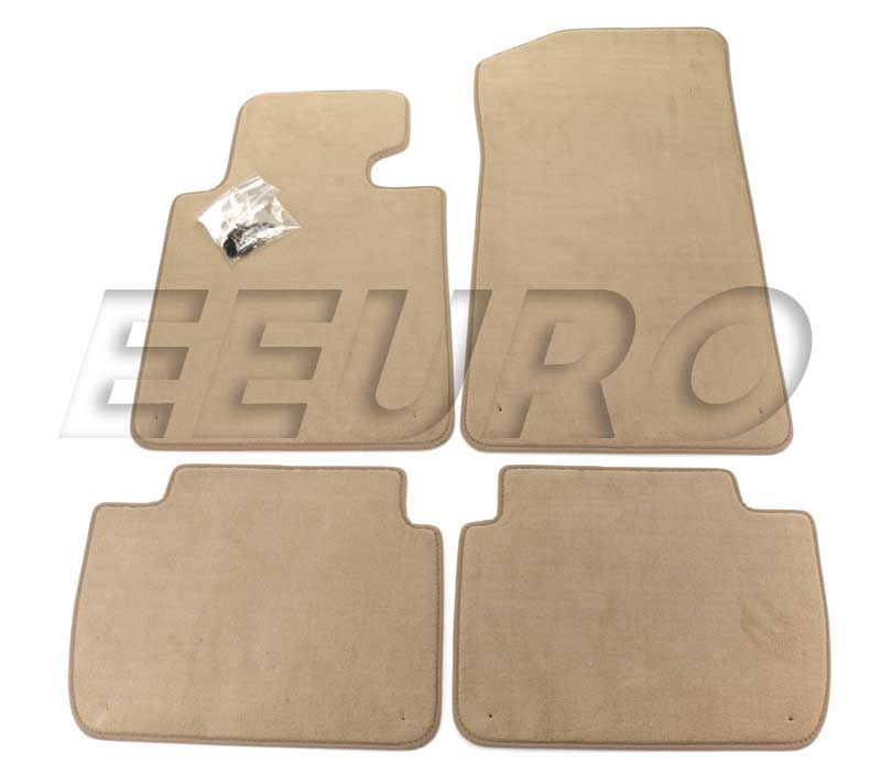 51478227522 Genuine Bmw Floor Mat Set Beige Free