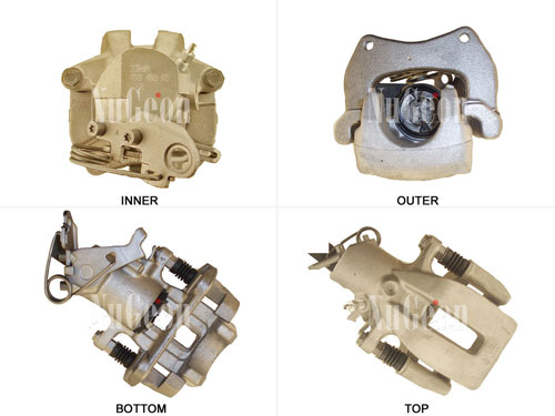 Disc Brake Caliper - Rear Driver Side 2202128L Main Image