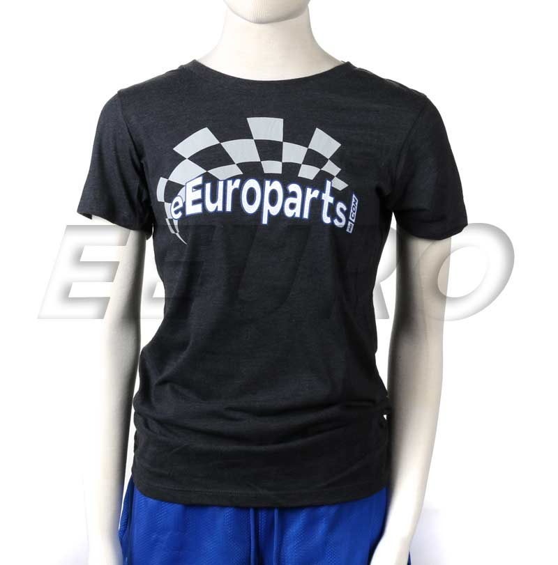eEuroparts.com Tee Shirt (Gray) (M) (Ladies) (2016) 000A00012 Main Image