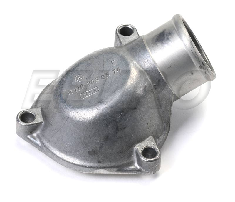 Engine Coolant Thermostat Housing Cover - Genuine Mercedes 1102030574 1102030574