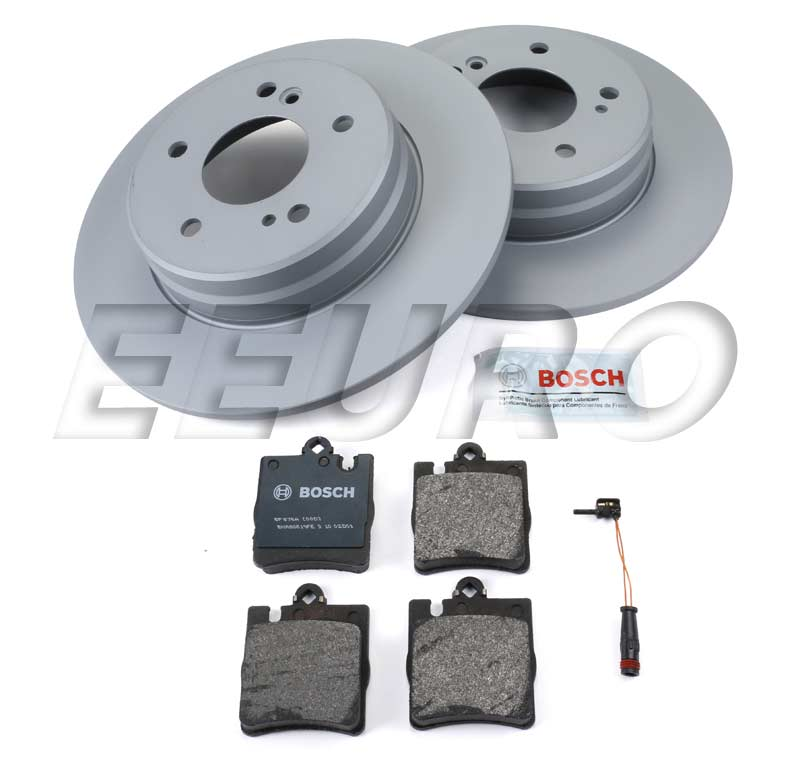 Mercedes Disc Brake Kit - Rear (290mm) (W203) (Sport) - eEuroparts.com Kit  Disc Brake Kit - Rear (290mm) (W203) (Sport)