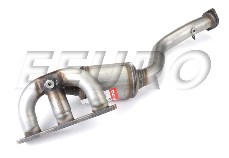 Exhaust Manifold W Catalytic Converter Cyl 13 0961275 Main: BMW 330i Catalytic Converter At Woreks.co