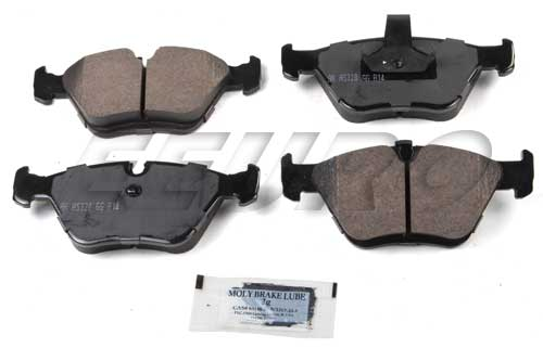 Click here for Disc Brake Pad Set - Front - Akebono EUR725 BMW 34... prices