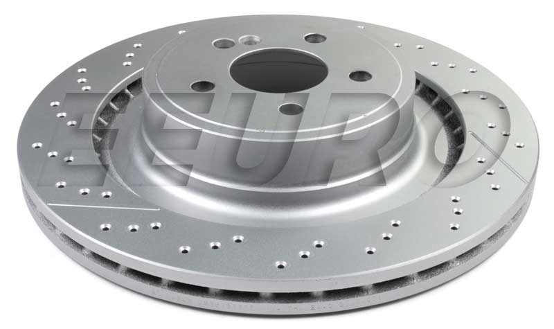 Mercedes Benz Disc Brake Rotor Rear 360mm Cross