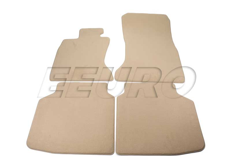 Floor Mat Set (Beige) - Genuine BMW 51477337690 51477337690