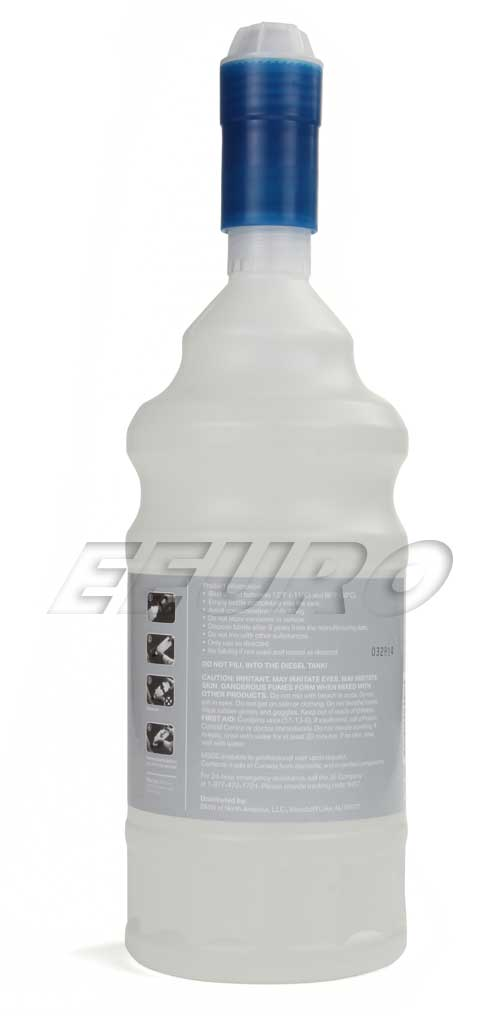 genuine bmw mini diesel exhaust fluid 1 2 gallon 83190441139 free shipping available. Black Bedroom Furniture Sets. Home Design Ideas