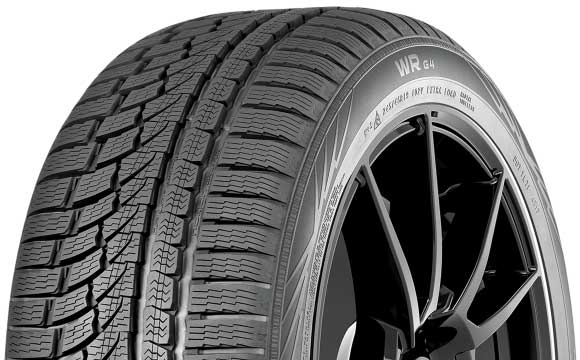 All-Weather Tire (WR G4) (P225/45R17) (91H) (Run Flat) - Nokian T430452 T430452