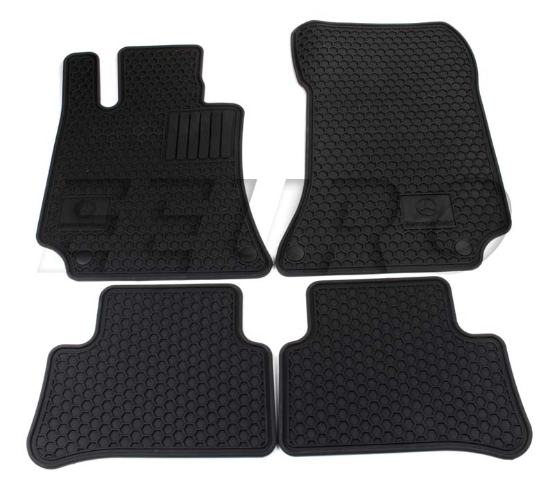 Floor Mat Set (All Weather) (Black) Q6680710 Main Image