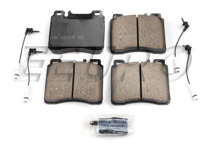 Click here for Disc Brake Pad Set - Front - Akebono EUR689 Merced... prices