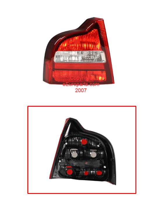 Tail Light Lens - Driver Side 34437922 Main Image