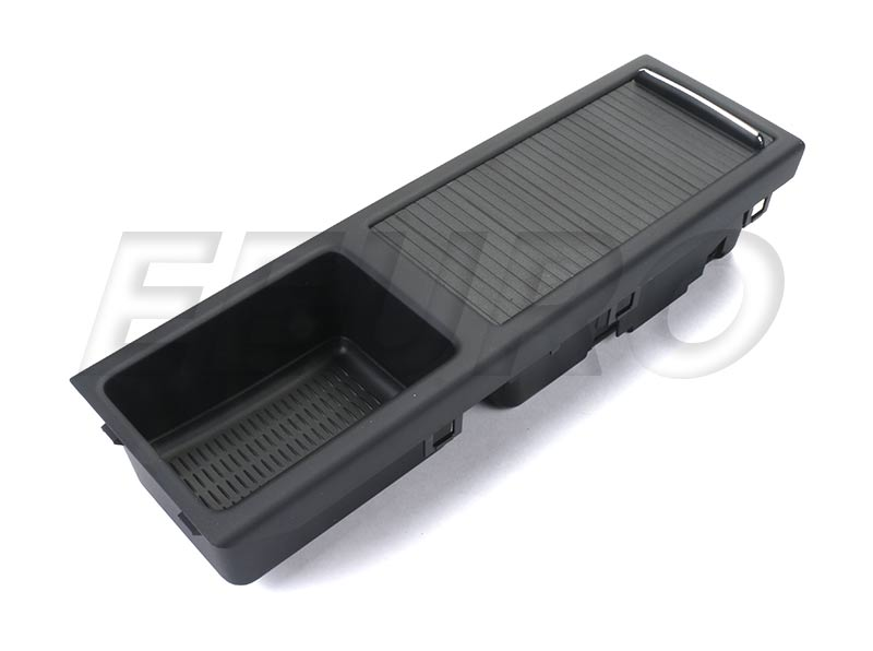 51167038323 genuine bmw center console storage compartment black fast shipping available - Console centrale bmw e46 ...