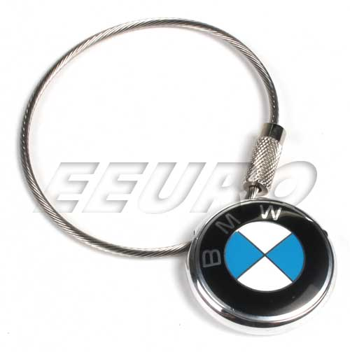 80230409883 genuine bmw key ring roundel fast shipping available