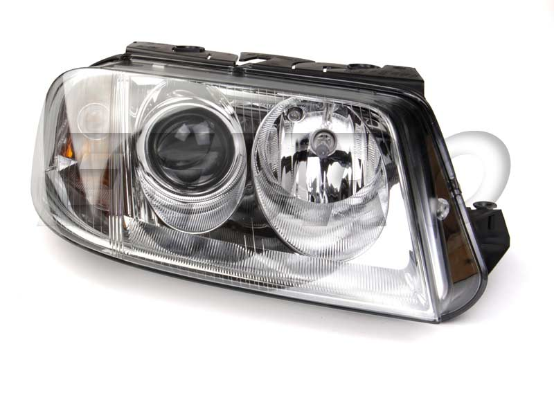 Headlight Assembly - Passenger Side (Halogen) - Hella 008350061 VW 3B0941016AQ