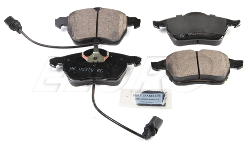 Click here for Disc Brake Pad Set - Front - Akebono EUR840 VW 4B0... prices