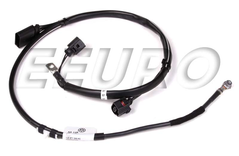 1j0971349hg genuine vw alternator wiring harness free shipping rh eeuroparts com alternator wiring harness bolt broken alternator wiring harness connector