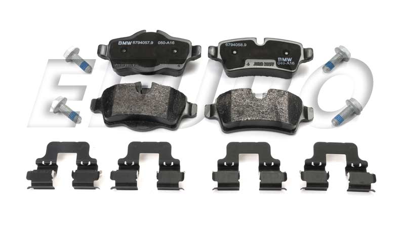 Disc Brake Pad Set - Rear - Genuine Mini 34216794059