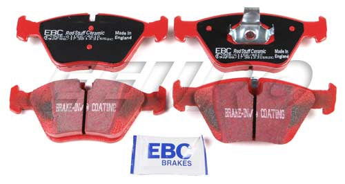 Click here for Disc Brake Pad Set - Front - EBC RedStuffs DP31552... prices