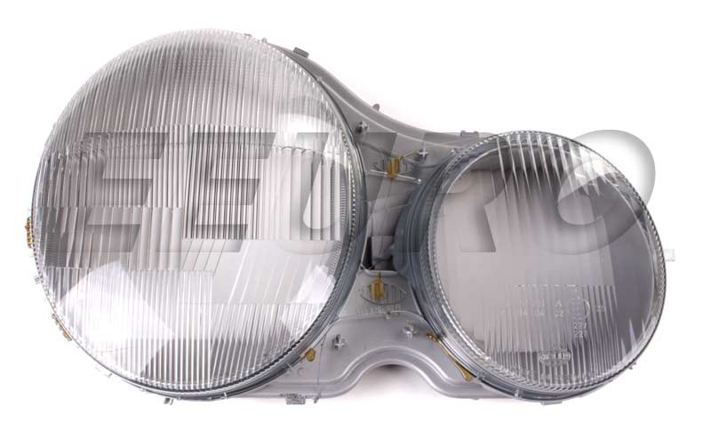 Mercedes benz headlight lens passenger side hella for Mercedes benz headlight lens