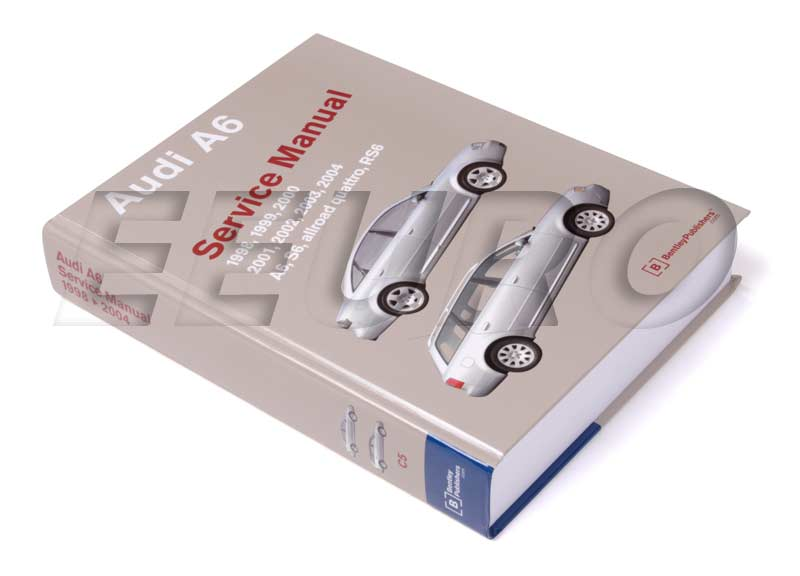 Original audi a6 avant quattro owners books manual glovebox 1999.