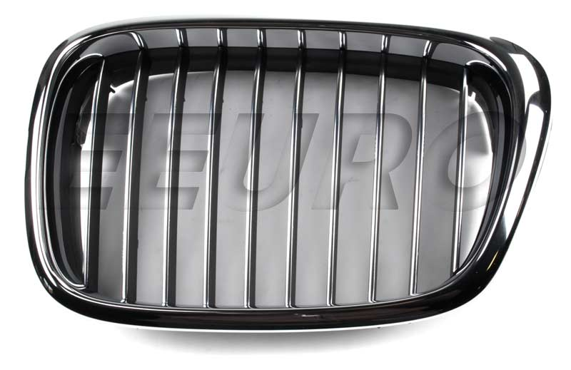 Kidney Grille - Front Driver Side (Chrome) - Genuine BMW 51132497261 51132497261