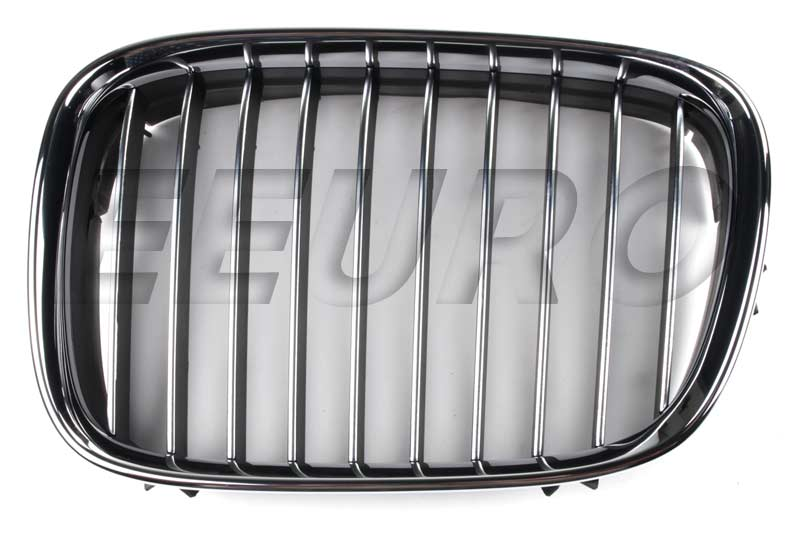 Kidney Grille - Front Driver Side (Chrome) - Genuine BMW 51138184531 51138184531