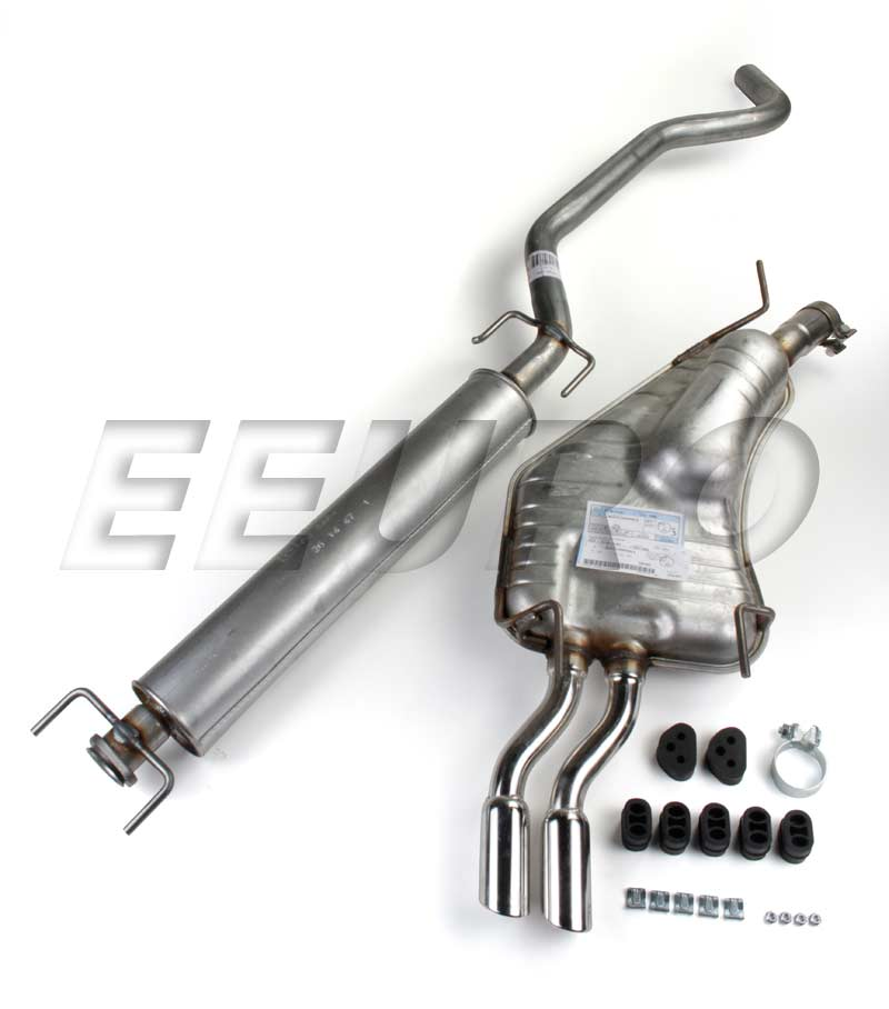Exhaust System Parts : Saab exhaust system kit cat back k free