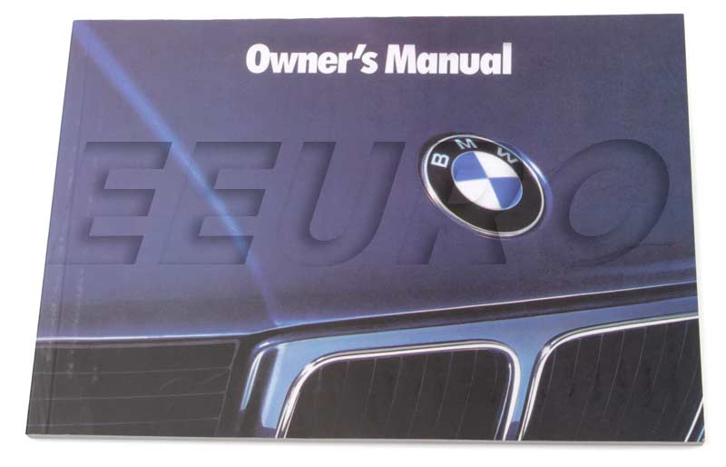 01479784969 genuine bmw owners manual e34 free shipping rh eeuroparts com e34 touring owners manual e34 check control owners manual