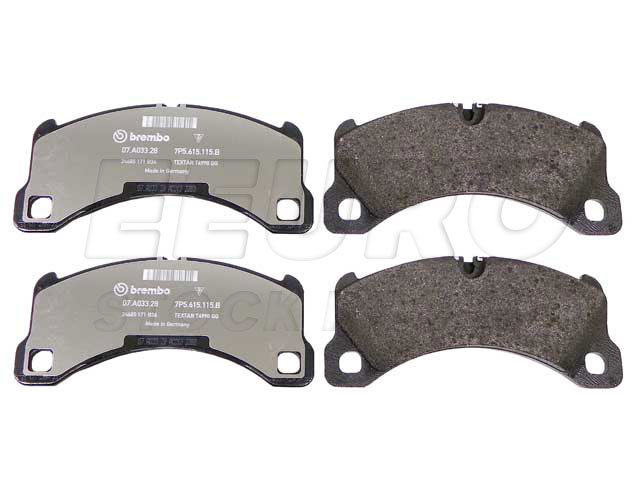 Disc Brake Pad Set - Front - Genuine Porsche 95835193930